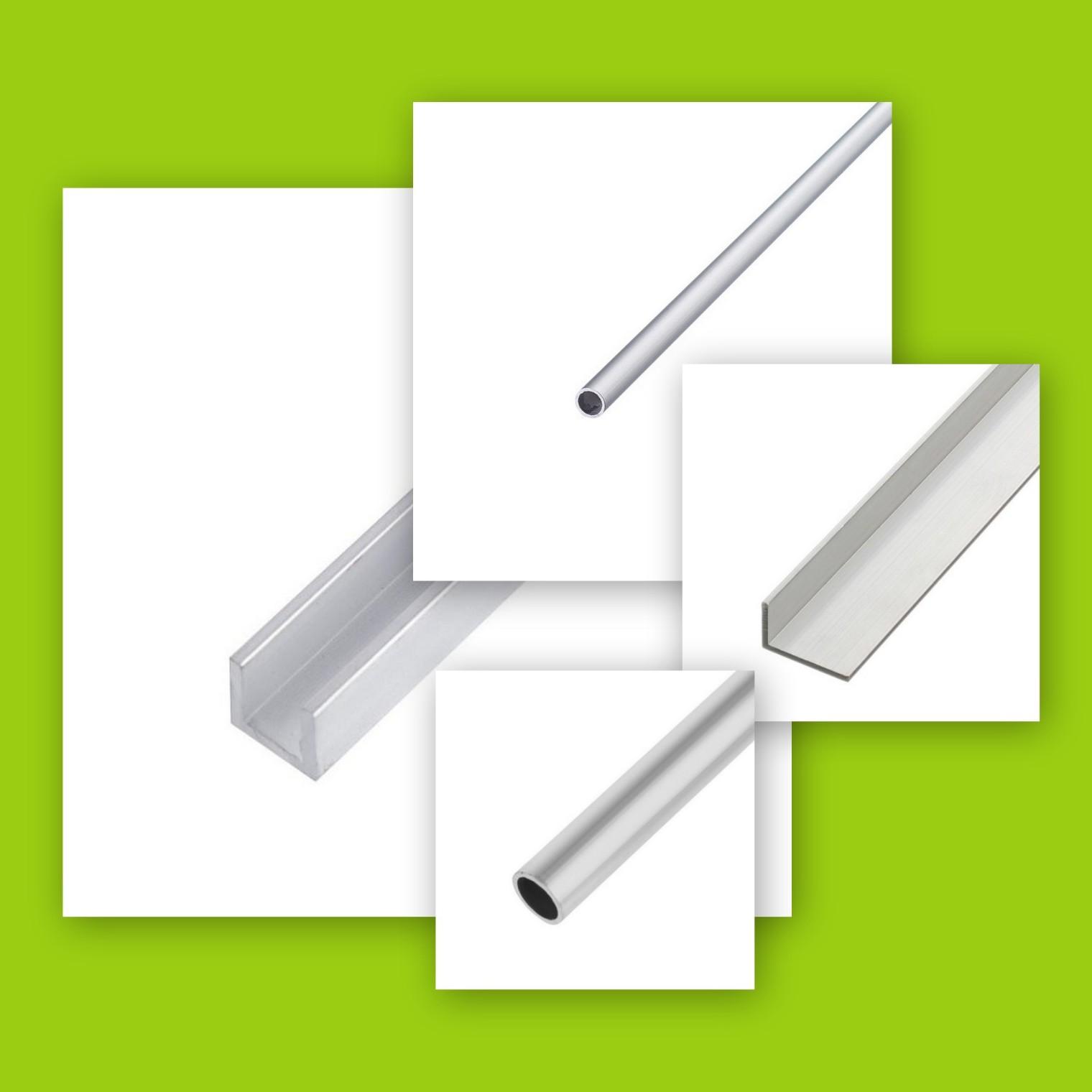 Профили и трубы алюминиевые