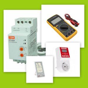 Измерительные приборы, Трансформаторы, Реле, Термометры