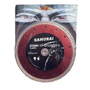 Диск алмазный SAMURAI Ø180х22,23мм турбо