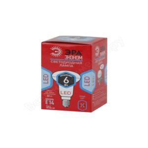 Лампа LED гриб ЭРА ECO 6W 840 E14