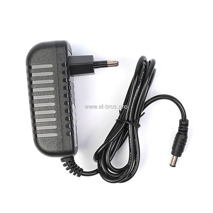 Адаптер питания для LED ленты 24Вт 220В IP20 ECOLA