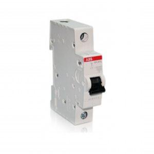 Автоматический выключатель однополюсной ABB SH201L C63
