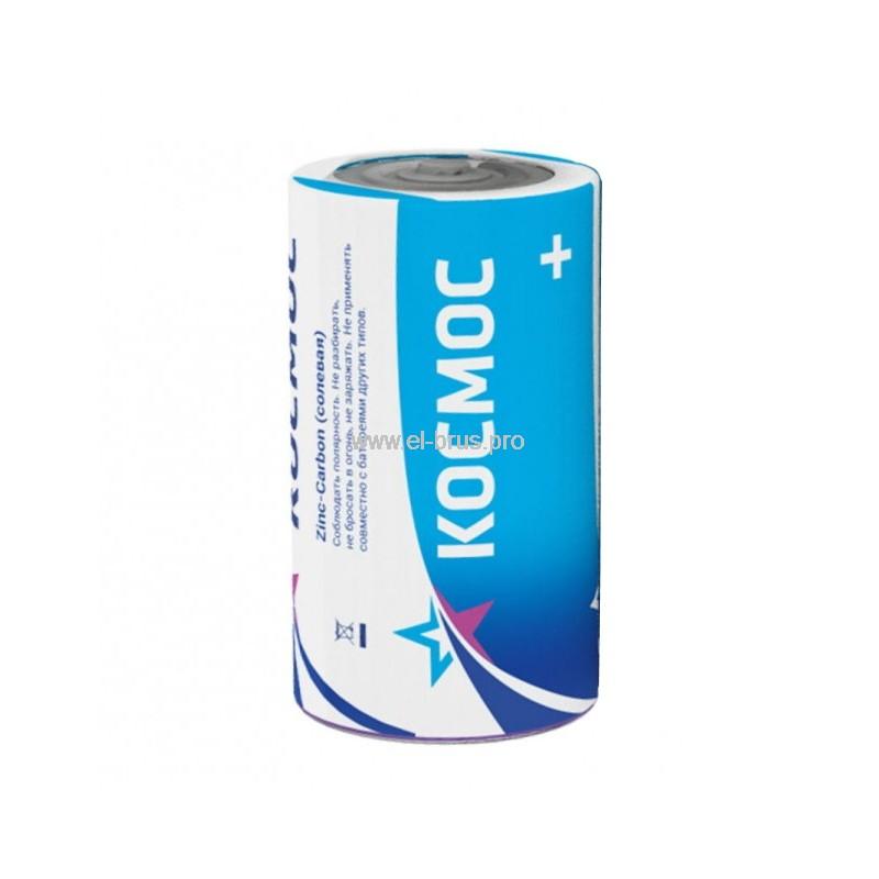 Элемент питания солевой C 1,5V КОСМОС