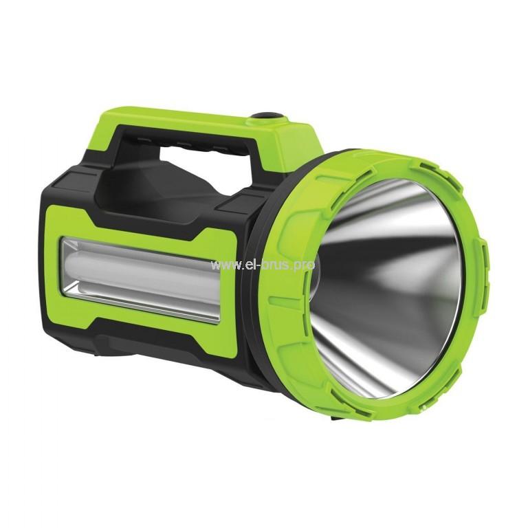 Фонарь 16 LED 10Вт аккум. USB 220/12В КОСМОС Premium 9110