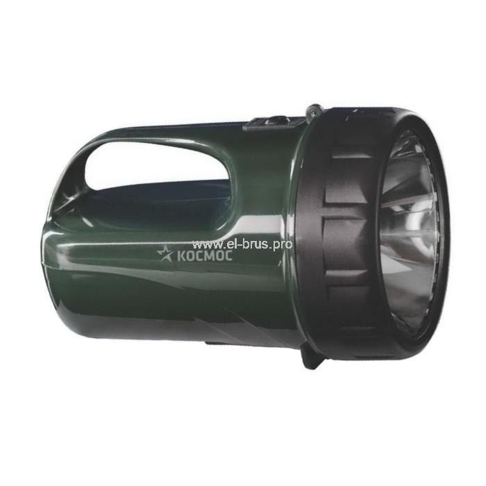 Фонарь  1 LED 3Вт аккум. КОСМОС 368