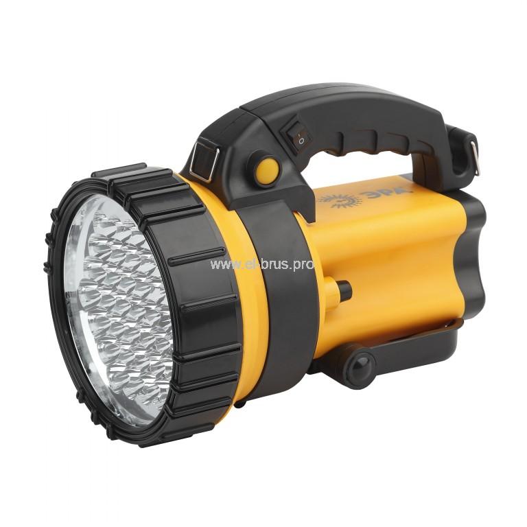 Фонарь 37 LED аккум. с сигнальной лампой ЭРА PA-603