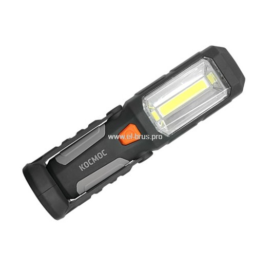 Фонарь  6 LED 1Вт аккум. КОСМОС 6003