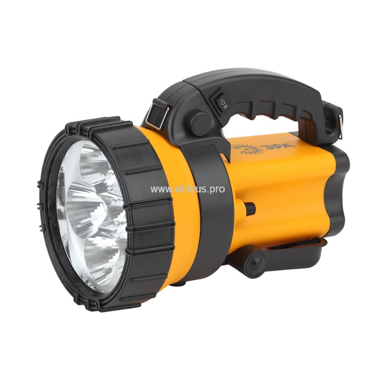 Фонарь  6 LED аккум. с сигнальной лампой ЭРА РА-605