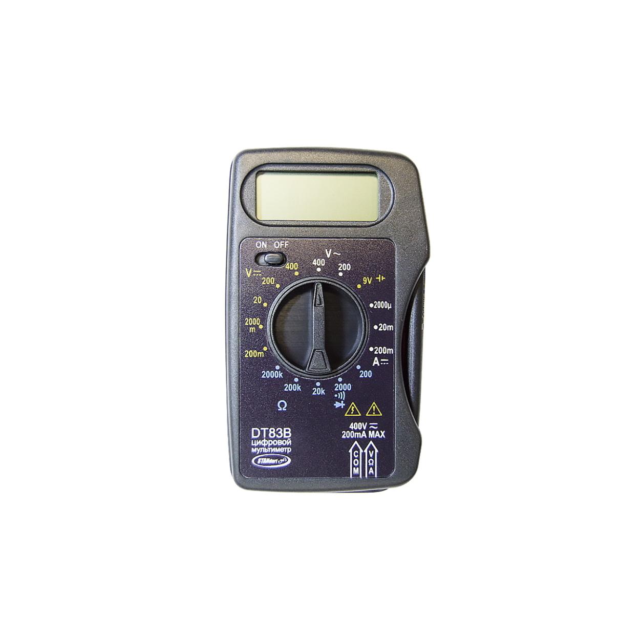 Мультиметр цифровой STANdart DT83B
