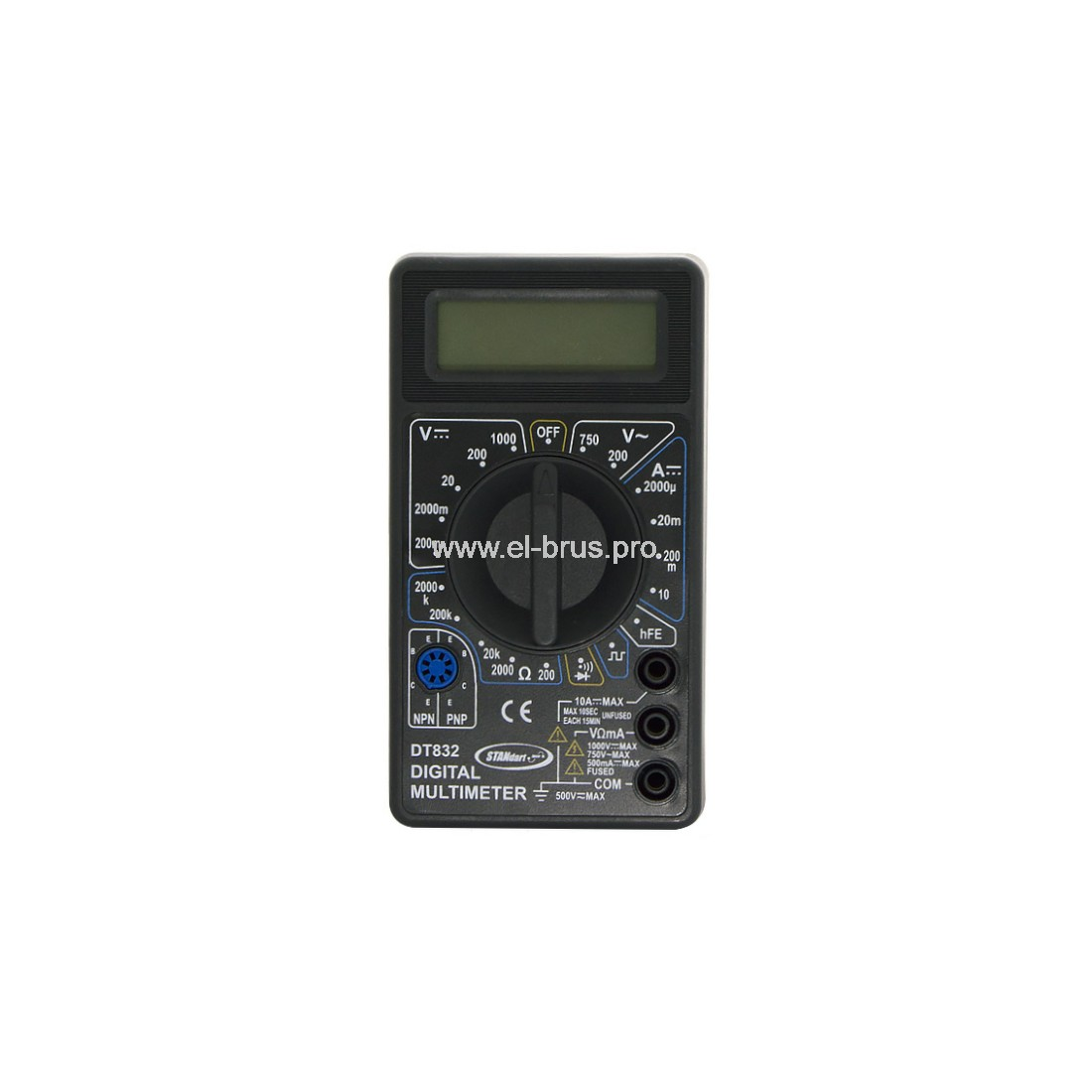 Мультиметр цифровой STANdart DT832B