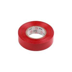 Изоляционная лента на ПВХ-основе 19мм х20м красная ЭРА