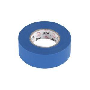 Изоляционная лента на ПВХ-основе 19мм х20м синяя ЭРА