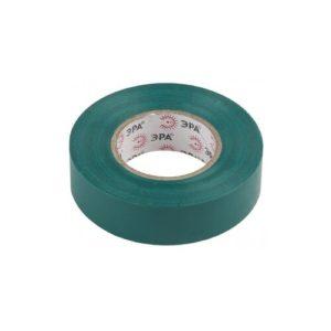 Изоляционная лента на ПВХ-основе 19мм х20м зеленая ЭРА