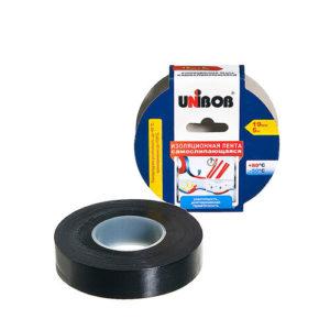 Изоляционная лента самослипающаяся 19мм х5м черная UNIBOB