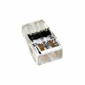 Клемма на 2 провода с пастой WAGO