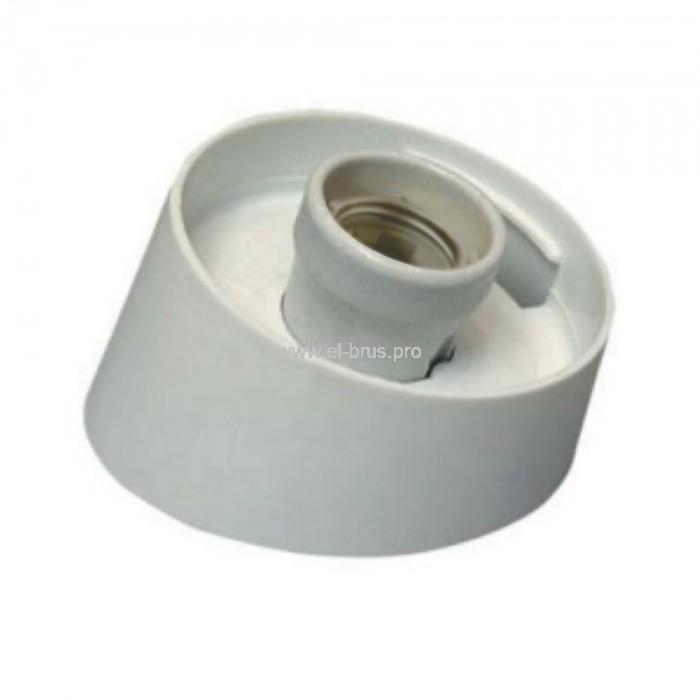Корпус светильника без плафона наклонный Е27 белый НББ 64-60