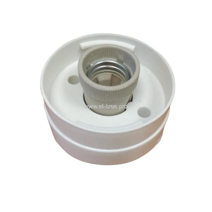 Корпус светильника без плафона прямой Е27 белый НББ 64-60
