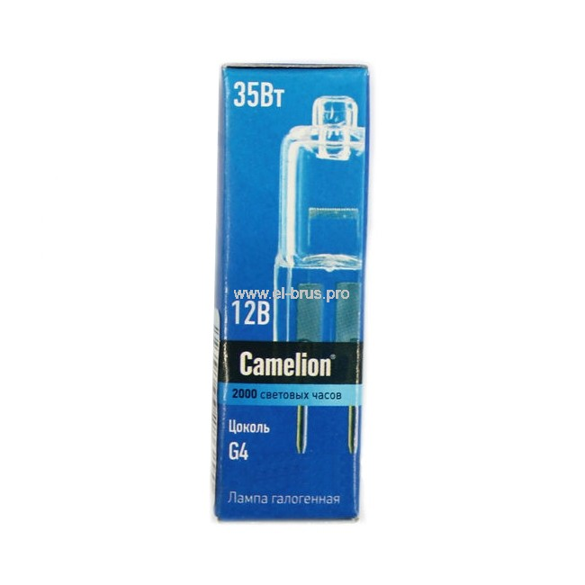 Лампа галогенная CAMELION G6.35 35W 12V