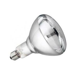 Лампа инфракрасная зеркальная белая Калашниково ИКЗ 250Вт Е27