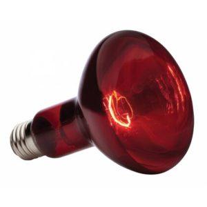 Лампа инфракрасная зеркальная красная Калашниково ИКЗК  250Вт Е27