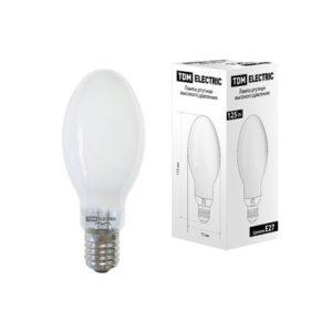 Лампа ртутная высокого давления TDM ДРЛ Е27 125Вт