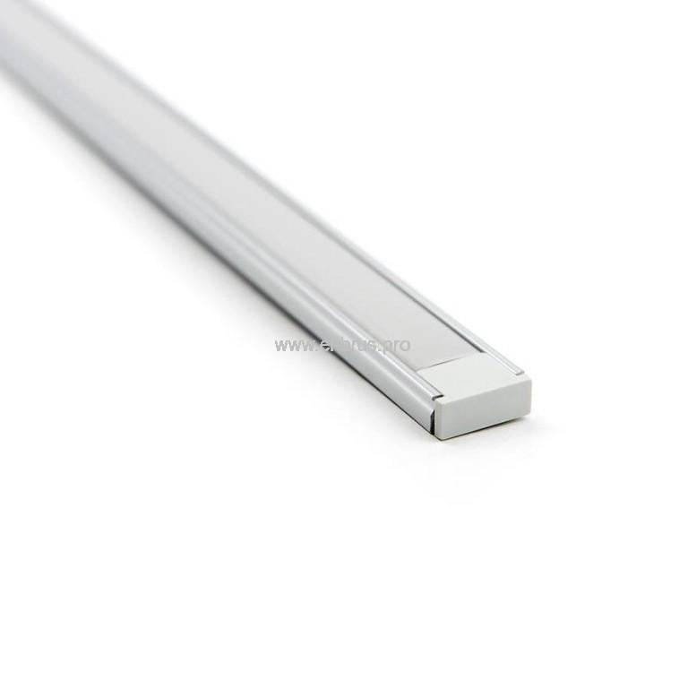 Комплект с накладным профилем для LED ленты 16ммх6ммх2м