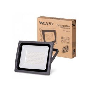 Прожектор LED  100W 5500K IP65 черный WOLTA
