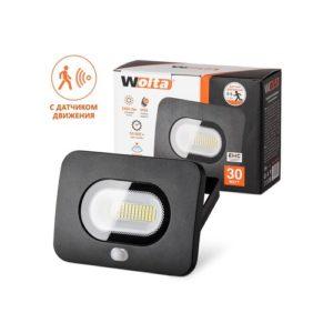 Прожектор LED 30W с датчиком движения 5500К