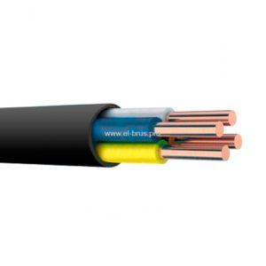 Кабель медный черный ВВГ-нг 4х6,0мм² (А) ГОСТ ККЗ