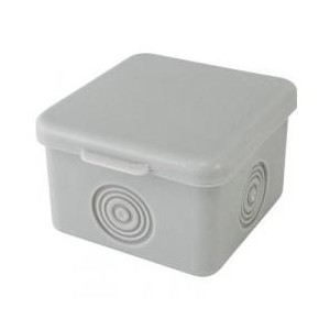 Распаячная коробка ОП IP54 серая EKF 65х65х50мм