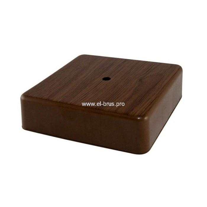 Распаячная коробка ОП IP40 бук TDM 75х75х20мм
