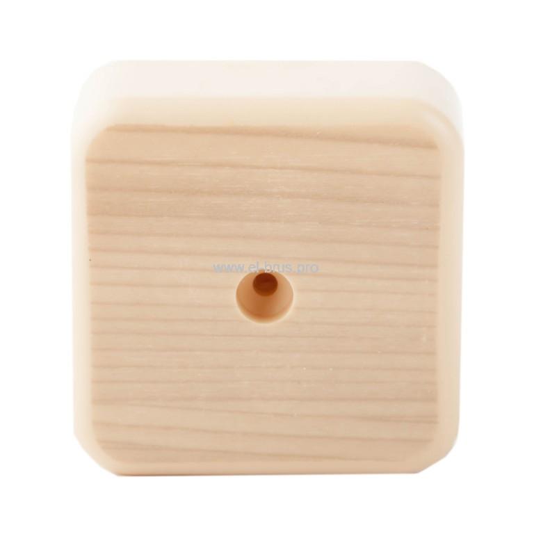 Распаячная коробка ОП IP40 сосна TDM 50х50х20мм