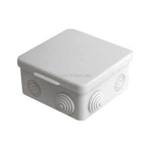 Распаячная коробка ОП IP54 серая TDM 80х80х50мм