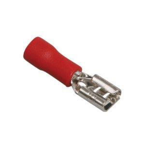 Разъем плоский РпИм 1,25-5-08 красный TDM