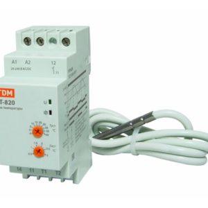 Реле температуры с датчиком IP67 24-240В TDM