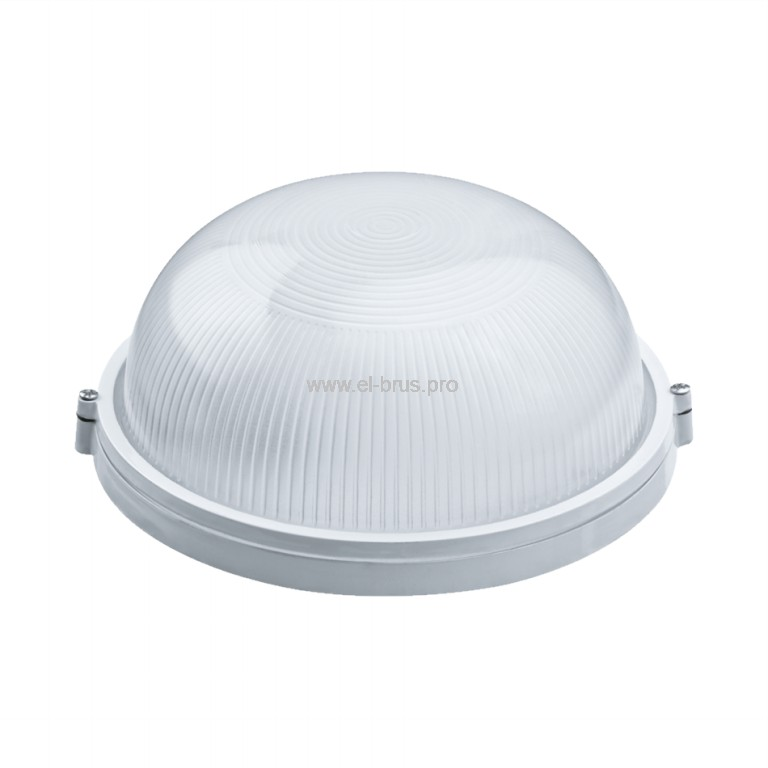 Светильник E27  60Вт IP54 круг белый ITALMAC
