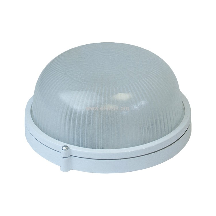Светильник E27  60Вт IP54 круг белый СВЕТ