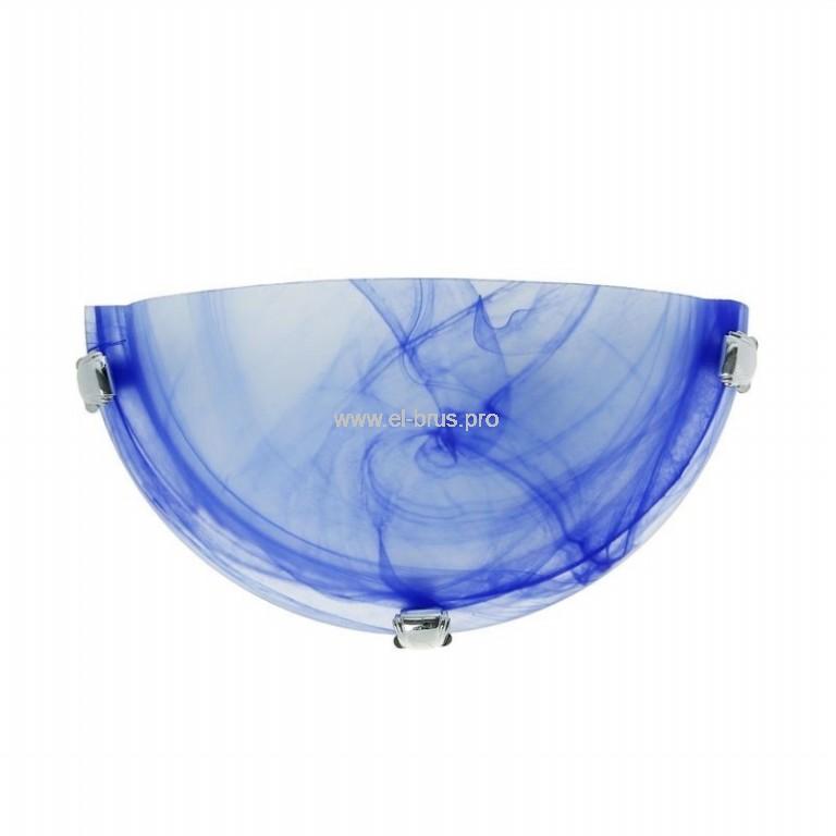 Светильник E27  60Вт IP20 декор. полукруг голубой TDM СД