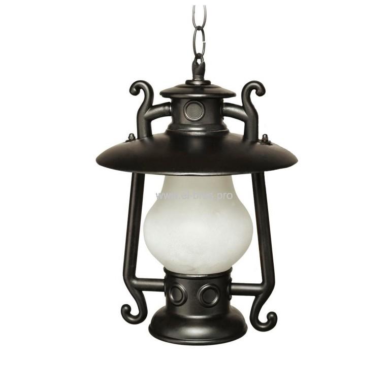 Светильник E27  60Вт IP54 сад-парк. подвесной металл. черный TDM Кантри