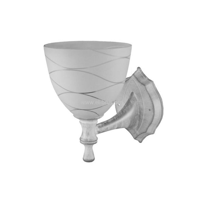 Светильник E27  60Вт IP20 настенный белый TDM НББ 21-60