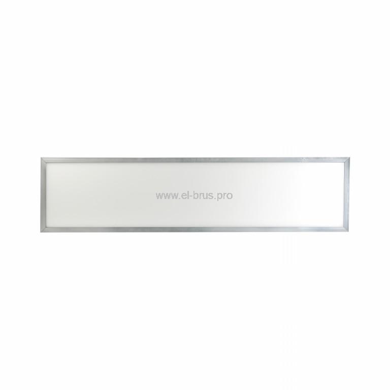 Панель LED универсальная с ЭПРА серебро ЭРА 40Вт 6500K