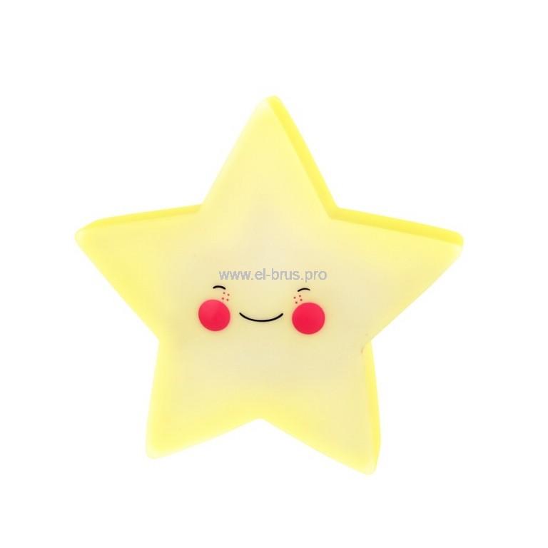 Светильник-ночник CAMELION Звезда 0,5Вт