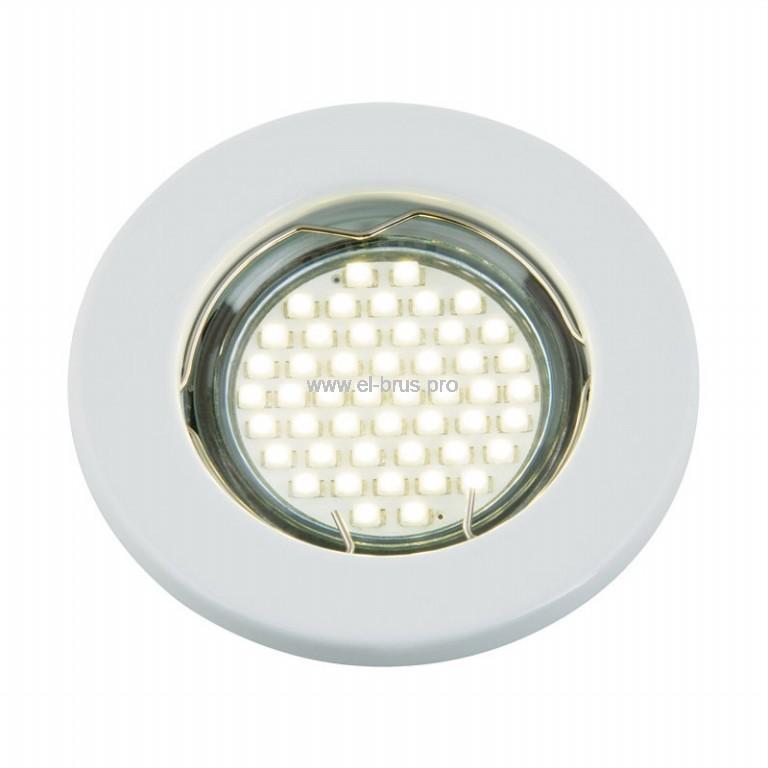 Светильник встраиваемый потолочный белый FAMETTO GU5.3 12В/220В 50Вт