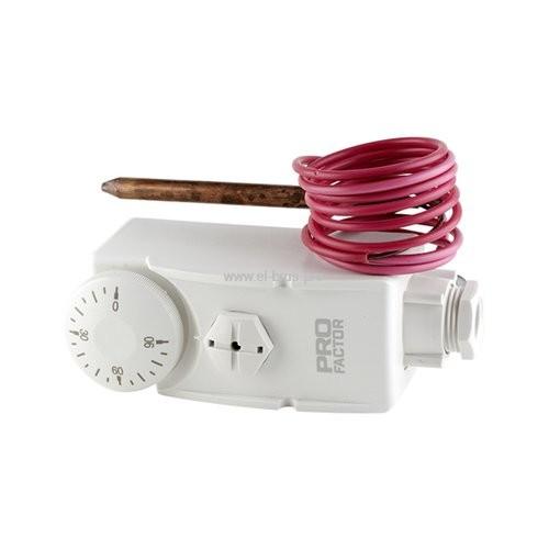 Термостат погружной с кап. трубкой 16A 250V PROFACTOR