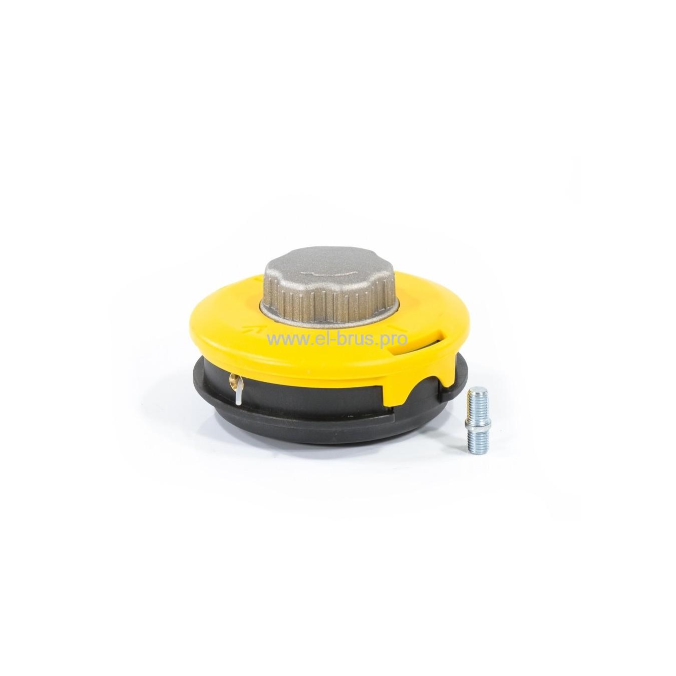 Катушка для триммера полуавтомат М10х1,25 левая DENZEL леска до 3,0мм