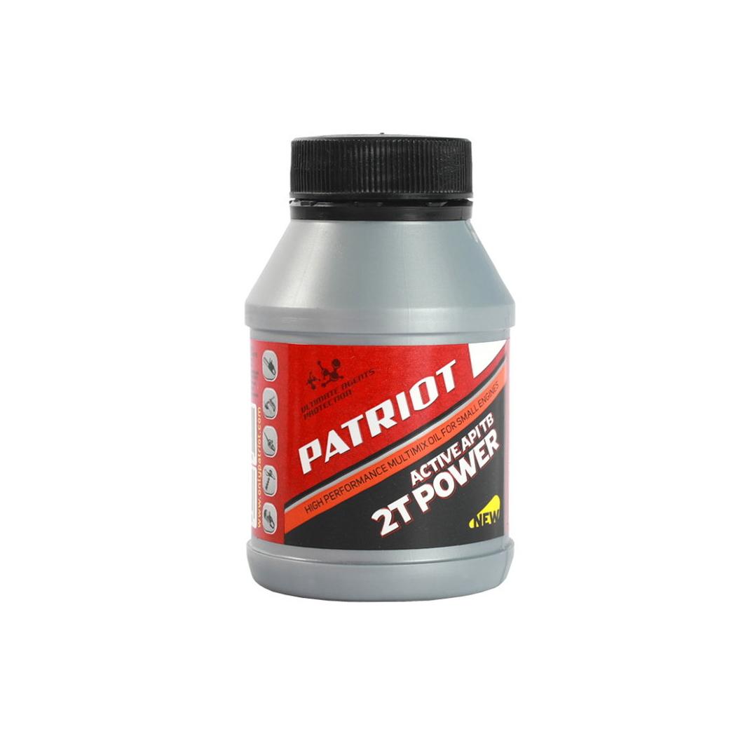 Масло моторное минер. 2Т PATRIOT Power Active 100мл