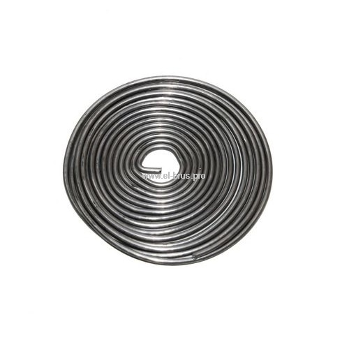Припой спираль ПОС-61 с канифолью Ø1,0х1000мм REXANT