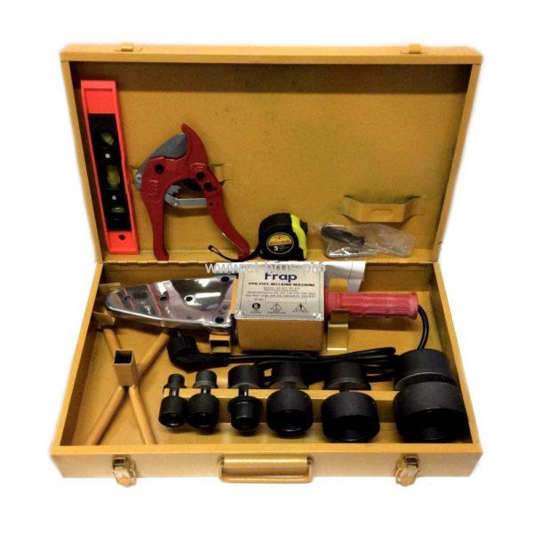 Аппарат для сварки п/п труб Ø20-63мм 1500Вт FRAP RJQ20-63-1