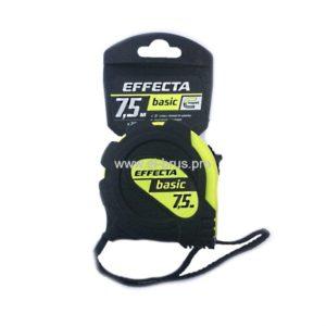 Рулетка EFFECTA Basic 25мм L-7,5м