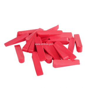 Клинья для плитки 27х6х6мм красный СИБРТЕХ 50шт